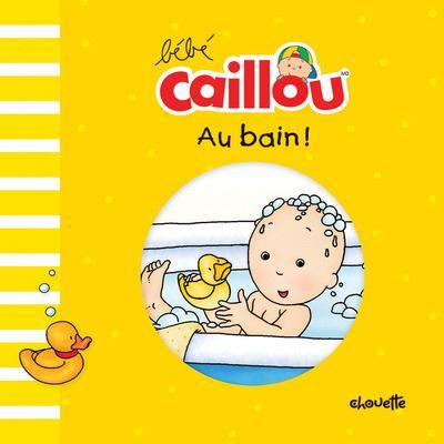 Bébé Caillou Au bain