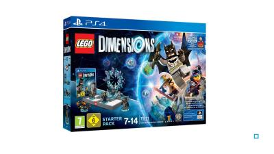 LEGO Dimensions Pack de démarrage + Supergirl PS4