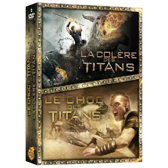 Le choc des Titans - La colère des Titans - Coffret