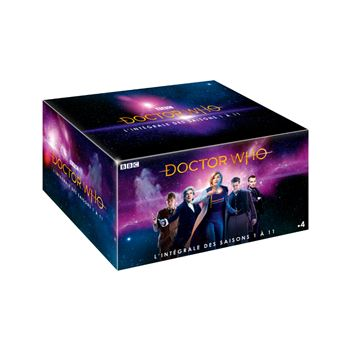Doctor WhoCoffret Doctor Who Saisons 1 à 11 DVD