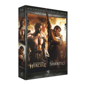 Coffret La Légende d'Hercule Les Immortels DVD
