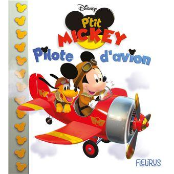 MickeyPilote d'avion