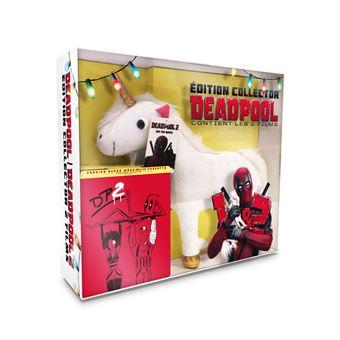 DeadpoolCoffret Deadpool et Deadpool 2 Steelbook Edition Collector Limitée Blu-ray