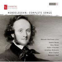 Mendelssohn: Complete Songs