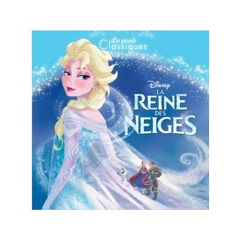 la reine des neiges la reine des neiges les grands classiques disney walt disney. Black Bedroom Furniture Sets. Home Design Ideas