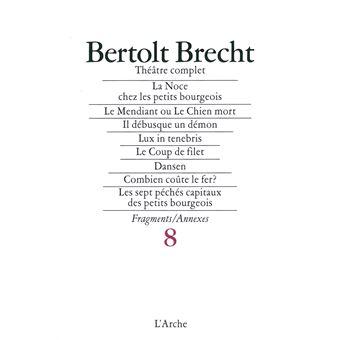 Théâtre complet T8 Brecht