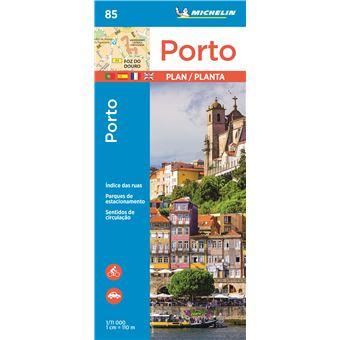 Mapa Michelin 85 - CIdade do Porto