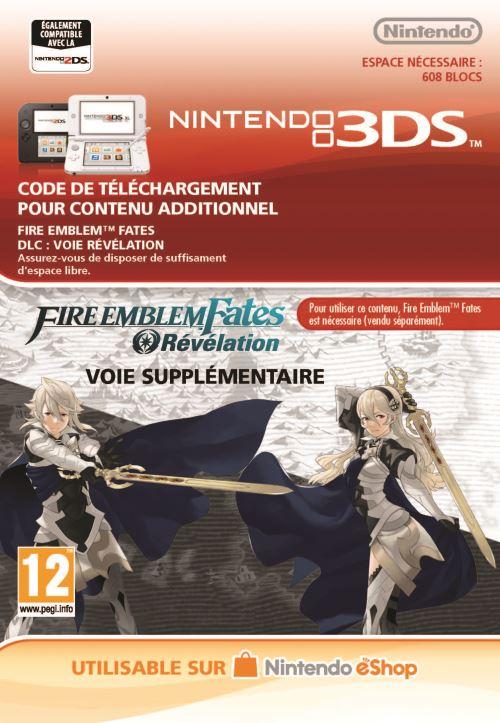 Code de téléchargement Fire Emblem Fates Révélation Nintendo 3DS