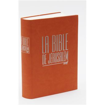 Bible de jerusalem integra fauve
