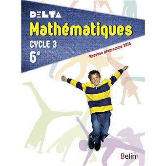 Delta Maths 6ème, Cycle 3