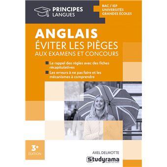 Pièges de la grammaire anglaise - Axel Delmotte