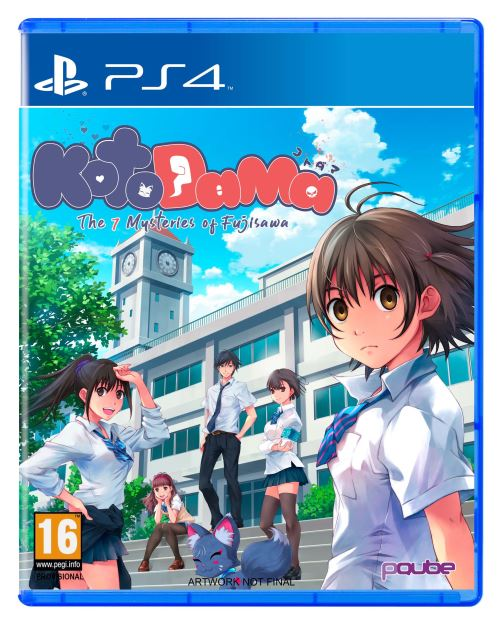 Kotodama The 7 Mysteries of Fujisawa PS4