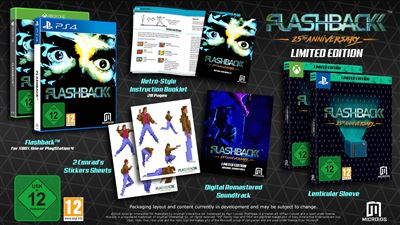 Flashback 25th Anniversary Edition Limitée PS4