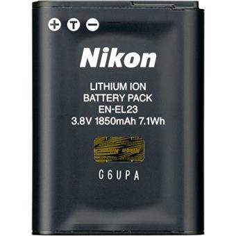 Batterie Nikon EN-EL23 1850 mAh Noir pour B700, P900, P610