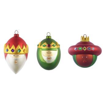 clearance prices super specials los angeles Set de 3 boules de Noël Rois Mages Alessi