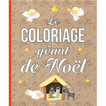 Le coloriage géant de Noël   cartonné   Mélanie Grandgirard