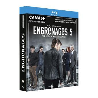 EngrenagesCoffret intégral de la Saison 5 Blu-Ray