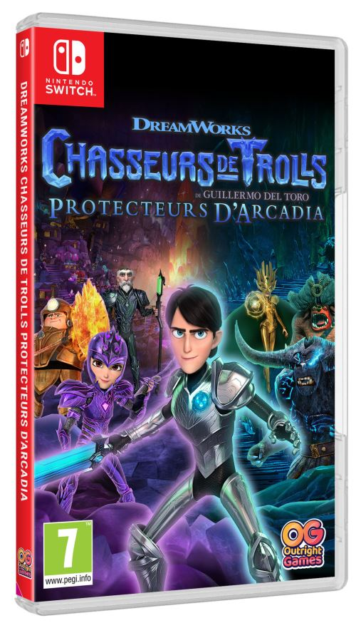 Chasseurs de Trolls Protecteurs d'Arcadia Nintendo Switch