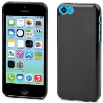 Coque Muvit miniGel pour iPhone 5c Noire