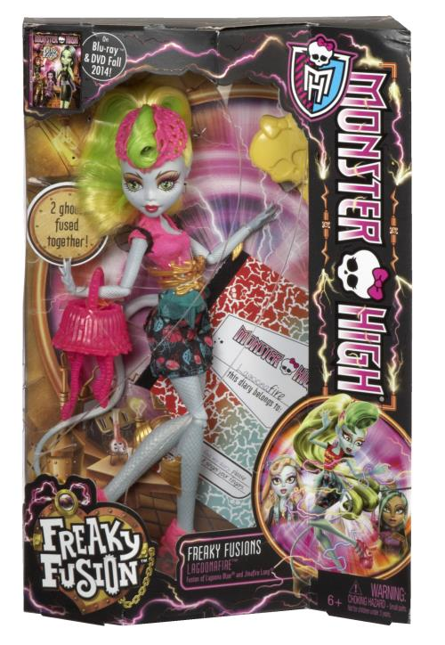 Poupée Monster High Transe-fusion Lagoona/Jinafire