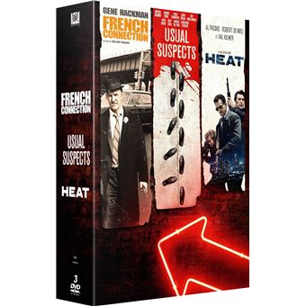 Coffret French Connection Heat Usual Suspects DVD