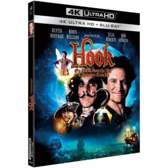 Hook ou la Revanche du capitaine Crochet Blu-ray 4K Ultra HD