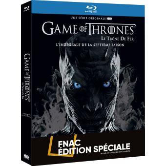 Game Of Thrones, Le trône de ferGame of Thrones Saison 7 Edition Limitée Spéciale Fnac Blu-ray