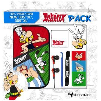 Pack Accessoires Subsonic Astérix pour console New 3DS XL