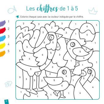 Coloriages Magiques Les Animaux Ms Broche Florence