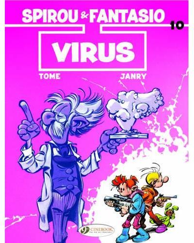 Spirou & Fantasio - tome 10 Virus