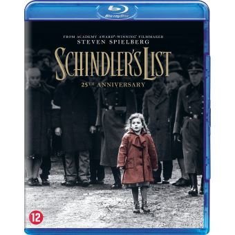 Schindler's list (25th anniversary BIL-BLURAY