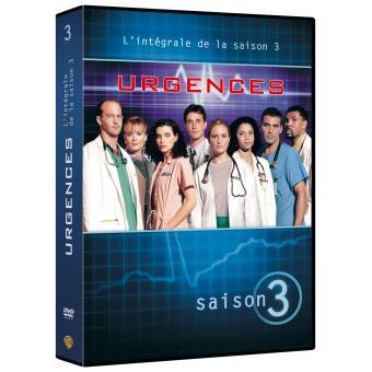 UrgencesUrgences Coffret intégral de la Saison 3 - DVD