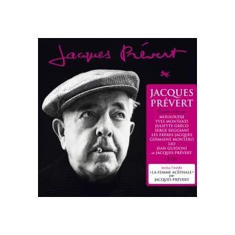 Jacques prevert et ses interpretes/digipack