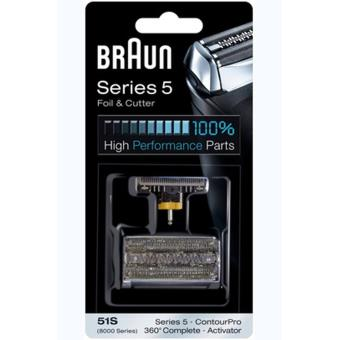 Braun razor head grid en messenblok 51B combi pack