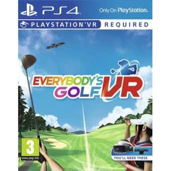EVERYBODY'S GOLF VR FR/NL PS4