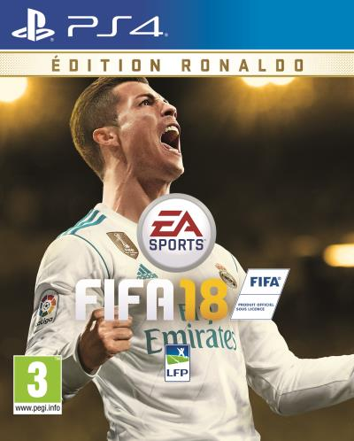 FIFA 18 Edition Ronaldo PS4