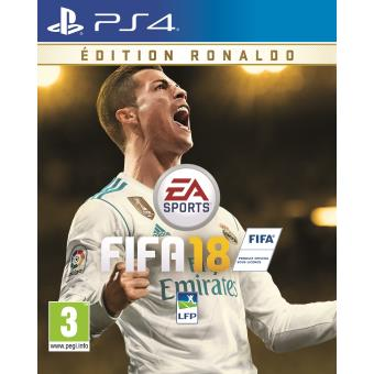 fifa 18 edition ronaldo ps4 jeux vid o achat prix fnac