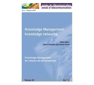 Knowledge management: knowledge networks /knowledge manageme