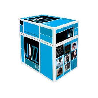 Jazz Box 25 Albums Originaux Coffret Edition Limitée
