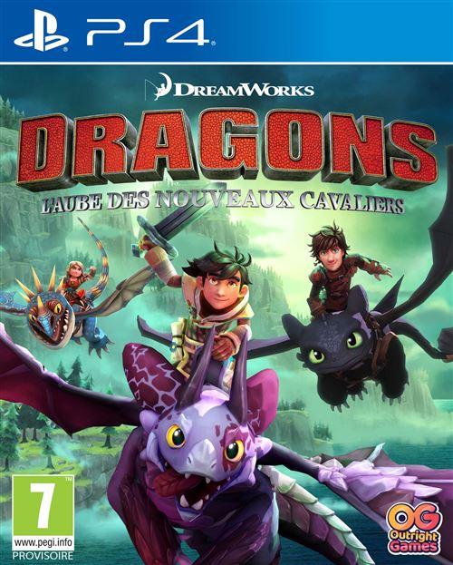 Dragons L'aube des nouveaux cavaliers PS4