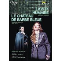 La Voix Humaine Le château de Barbe Bleue DVD