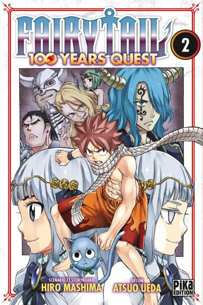Fairy Tail - 100 Years Quest T02 - 9782811650698 - 4,49 €