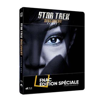 Star Trek DiscoveryStar Trek: Discovery Saison 1 Steelbook Edition Fnac Blu-ray