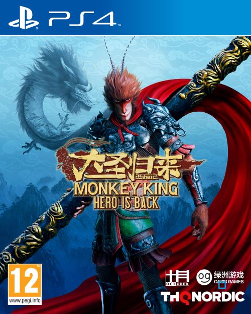 Monkey King : Hero is Back PS4