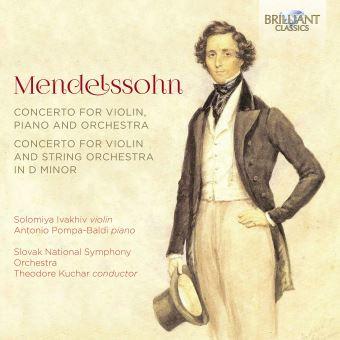 CONCERTO FOR VIOLIN PIANO AND ORCHESTRA