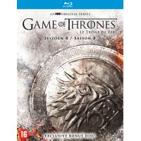 Pre-Order - Game of Thrones S8 Blu Ray -  Levering vanaf 3/12