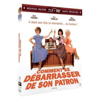 Comment se débarrasser de son patron Combo Blu-ray DVD