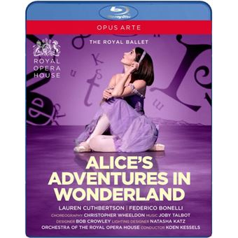ALICES ADVENTURES IN WONDERLAND/BLURAY