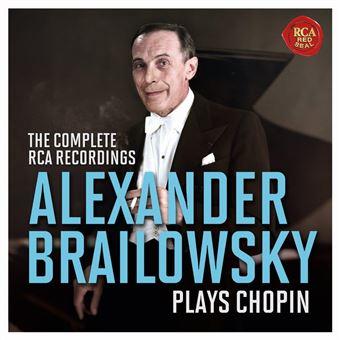 Alexander Brailowsky plays Chopin The Complete RCA Recordings Coffret Inclus un livret de 40 pages