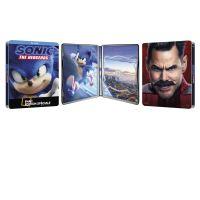Sonic le film Steelbook Edition Spéciale Fnac Blu-ray